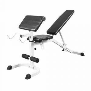 Träningsbänk Multibänk - Bänkpress, biceps, sit-up